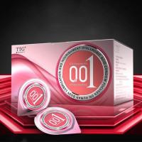 Condom TTG 0.01 - Kondom Tipis 001 - Kondom Karet Bahari Hyalutonic
