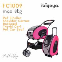 Ibiyaya 5in1 Stroller Anjing/ Backpack/ Trolley/ Car Safety Seat