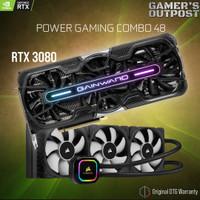 POWER COMBO 48 RTX 3080 PHANTOM GS + CORSAIR ICUE H150I PRO XT