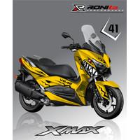 Decal Yamaha XMAX Full Body Paling Murah di RONIta Seri 03