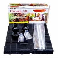 Undergravel filter Aquascape/Aquarium AMARA/CROWN 58/ORCA 60