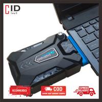 Vacuum Pendingin Laptop Cooler Cooling Pad Taffware ICE FAN 3