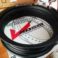 Velg Rossi Rossy XD 250 300 350 Ring 14 36H Black Original not tdr tk