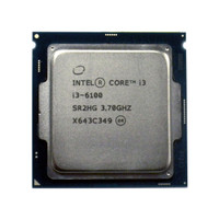 Processor Intel Core i3-6100 i3 6100 Socket 1151 LGA Tray Non Fan CPU