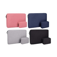 Tas Sarung Laptop Sleeve Case Waterproof with Pouch 13 14 inch