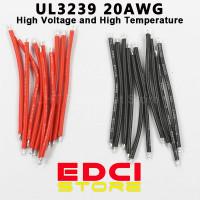 Kabel UL3239 20 AWG Voltase Tinggi & Tahan Panas untuk Modif Senter