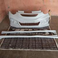 Bodykit AGYA AYLA Custom Mugen Gk5 Depan Plus Aksesoris Lampu Dan Side