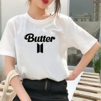 Kaos BTS Butter Kaos BTS wanita Oversize Baju BTS Baju Butter BTS