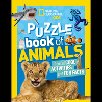 National Geographic Kids Puzzle Book Animals