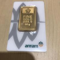 logam mulia antam 50 gram certieye