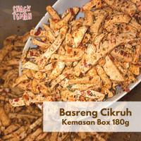 Basreng Pedas Daun Jeruk Viral Cabe Merah - Snack Teman Bandung