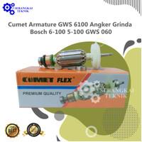 Cumet Armature GWS 6100 Angker Grinda Bosch 6-100 / 5-100 / GWS 060