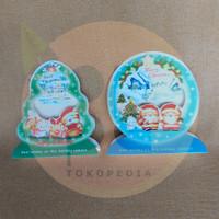 Amplop & Kartu Ucapan Natal Lipat 3D Standing Christmas Greeting Card