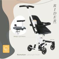 Babyelle rider sp 1699 convertible baby elle stroller board cabin size - DARK GREY 1688