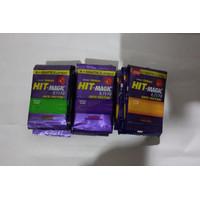 Obat Nyamuk Bakar Kertas HIT Magic (4+2 Lembar) 1 Renceng 12 Sachet