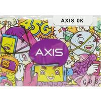Kartu Perdana Axis Reguler 0k