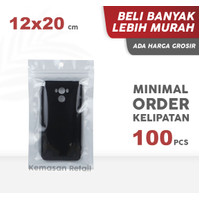 Sachet Transmetz White Zipper 12x20 cm