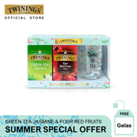 Twinings Package SUMMER SPECIAL OFFER - Free Gelas
