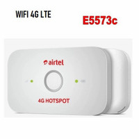 Modem Mifi / WiFi 4G LTE Huawei E5573 Logo AIRTEL ( UNLOCK )