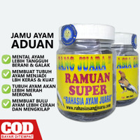 RAMUAN SUPER | JAMU DOPING AYAM ADUAN PETARUNG LAGA BANGKOK TERBAIK