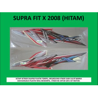 Motor Honda Supra Fit X 2008 Stiker / Lis / Striping / Stripping
