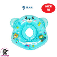 DOCTOR DOLPHIN Neck Swim Ring Pelampung Leher Bayi Anak - Size M Biru