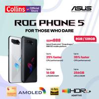 ASUS ROG PHONE 5 8G/128G SNAPDRAGON 888 - GARANSI RESMI ASUS INDONESIA - Phantom Black