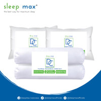 Paket 2 Bantal Guling | Sleep Max Double Complete