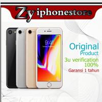 APPLE IPHON 8 256GB GSM 4G FU LTE SILENT ORIGINAL NEW GARANSI 1TAHUN - GOLD