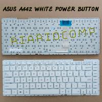 Keyboard Asus A442 A442U A442UF A442UQ A442UR X442 X442UA WHITE POWER