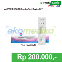 ANSWER HBsAg Device Isi 40 Test