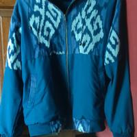 Jaket Etnik kain tenun merk Awan Ethnic Craft