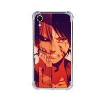 Custom Case Iphone XR Anime EREN Attack on Titan Softcase Hardcase HP