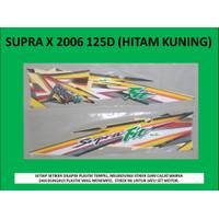 Motor Honda Supra Fit 2005 Disc Stiker / Lis / Striping / Stripping