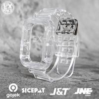Tali Strap Case Apple Watch Silikon Transparan 38mm 40mm 42mm 44mm