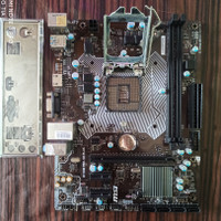 MSI H110M PRO - VH Plus soket 1151 support Kabylike