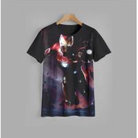 kaos anak IRONMAN V1 baju anak ironman V1 (9-12) - 9-10 Tahun