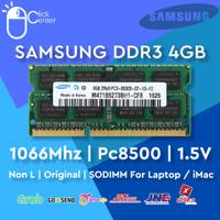 RAM LAPTOP DDR3 4GB SAMSUNG 1066Mhz PC8500 SODIMM 1.5V DDR 3 MEMORY