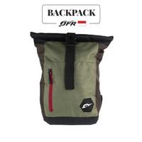 Tas Ransel Backpack Bahan Polyester JBAG02 Hijau