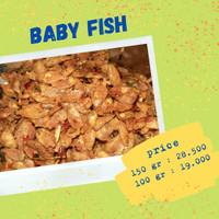 baby fish pedas 150 gram chillin_snack