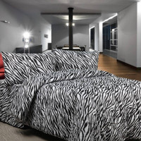 Bedcover Set Sprei Katun Super Ukuran 140x200 Tinggi 20