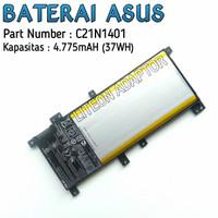 Baterai Original Laptop Asus A455L K455LF X454L X454LA X556U X555L