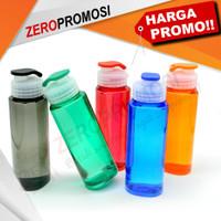 Souvenir Tumbler Plastik Tri Hydration Water Bottle Cetak Logo Murah