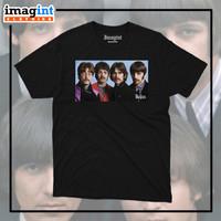 baju kaos band The Beatles 3 unisex