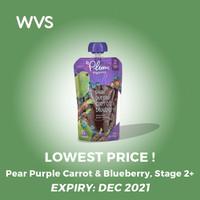 Plum Organics Baby Food - Pear Purple Carrot & Blueberry Stage 2