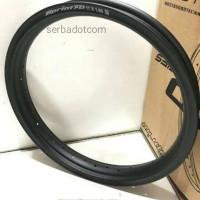 Velg Rossi Rossy XD 140 185 Ring 17 36H Black Original not tdr tk exce