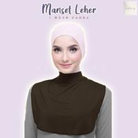 MANSET LEHER - Penutup Dada Bahan Adem Murah Hijab Dalaman Baju