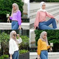 atasan muslim atasan anak remaja tanggung blouse cewek