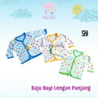 Baju Bayi Baru Lahir Atasan Panjang Laki Perempuan Baby Newborn Lucu