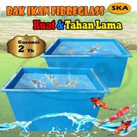 Bak ikan + Kolam Ikan Fiberglass + Khusus Jabodetabek
